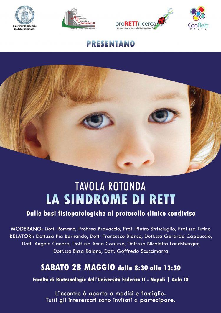 sindrome di rett locandina