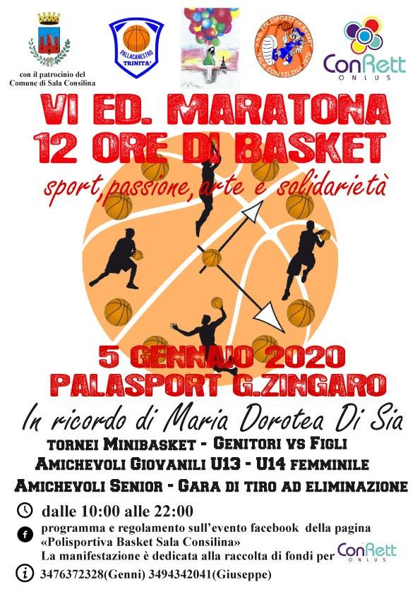 VI ED. Maratona di Basket - In Ricordo di Maria Dorotea Di Sia